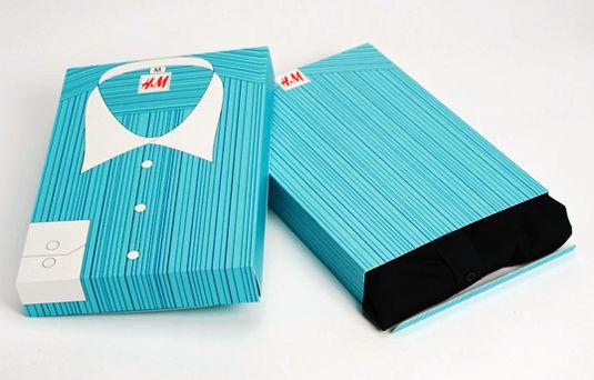 Contoh Desain Kemasan Unik Menarik - Contoh desain kemasan unik menarik - packaging design - H&M gift package