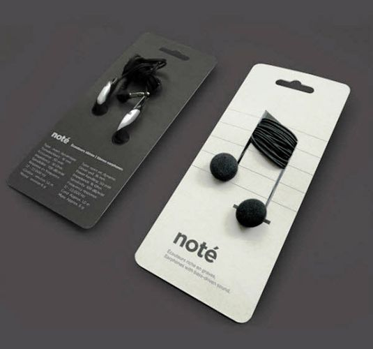 Desain Kemasan Unik Menarik - design - Headphone packaging
