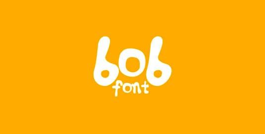 Download 100 Font Gratis untuk Desain Grafis dan Web - Bob Free Font