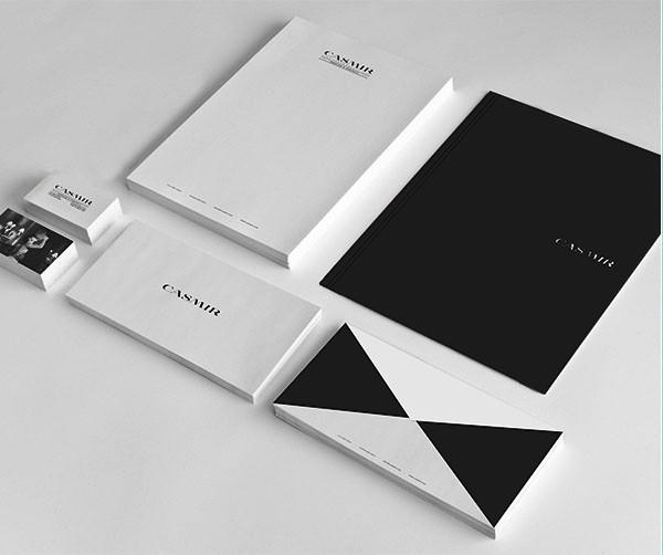 Desain Stasioneri Inspiratif Siap Print dan Cetak - Casmir