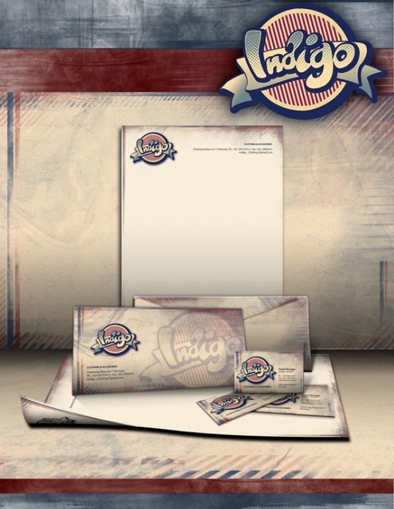 Contoh Desain Kop Surat dan Kartu Nama Paling Kreatif - Contoh-Desain-Kop-Surat-Kreatif-01-Indigo-Stationery