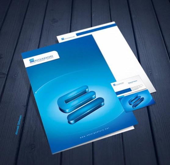 Contoh Desain Kop Surat dan Kartu Nama Paling Kreatif - Contoh-Desain-Kop-Surat-Kreatif-01-RI-Stationery