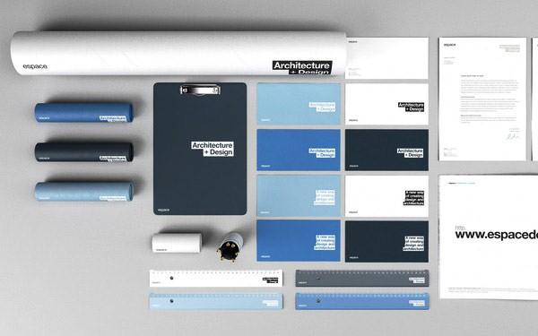 Desain Stasioneri Inspiratif Siap Print dan Cetak - Espace Branding
