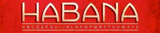 Download 100 Font Gratis untuk Desain Grafis dan Web - Habana Free Font