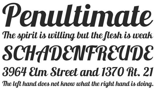 Download 100 Font Gratis untuk Desain Grafis dan Web - Lobster Free Font