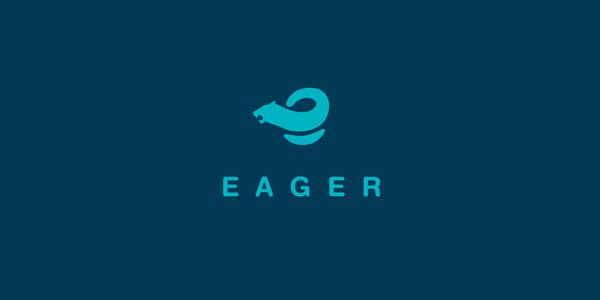 Contoh Desain Logo Institusi Keuangan - Logo Keuangan Eager