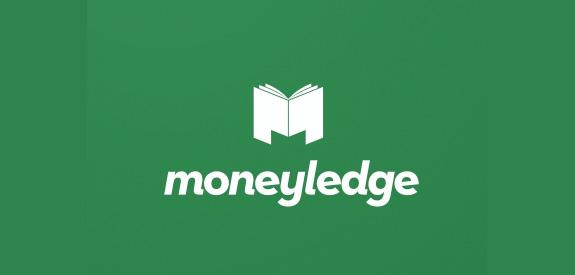 Contoh Desain Logo Institusi Keuangan - Logo Keuangan MOneyledge