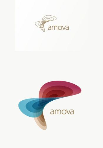 Contoh Desain Logo pada Kop Surat - Logo-Kop-Surat-Amova