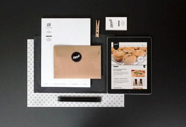 Desain Stasioneri Inspiratif Siap Print dan Cetak - MAMALÙ Branding