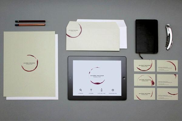 Desain Stasioneri Inspiratif Siap Print dan Cetak - MYLÈNE POISSON SOMMELIÈRE