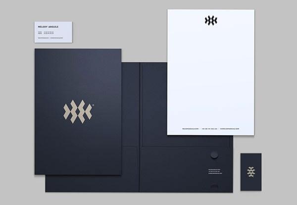 Desain Stasioneri Inspiratif Siap Print dan Cetak - Melody Arguile