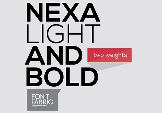 Download Free Font Gratis for Graphic Design and Web - Nexa-light-and-bold-Free-Font