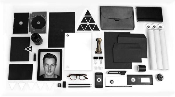 Desain Stasioneri Inspiratif Siap Print dan Cetak - Personal Identity Johnston