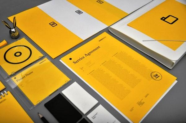 Desain Stasioneri Inspiratif Siap Print dan Cetak - Sciencewerk X Identity