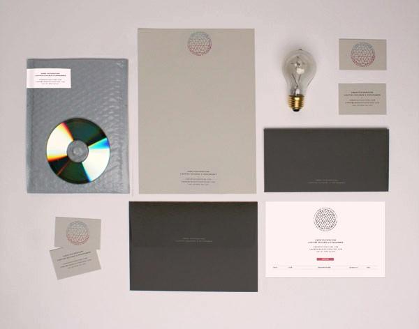 Desain Stasioneri Inspiratif Siap Print dan Cetak - Simon Featherstone Branding