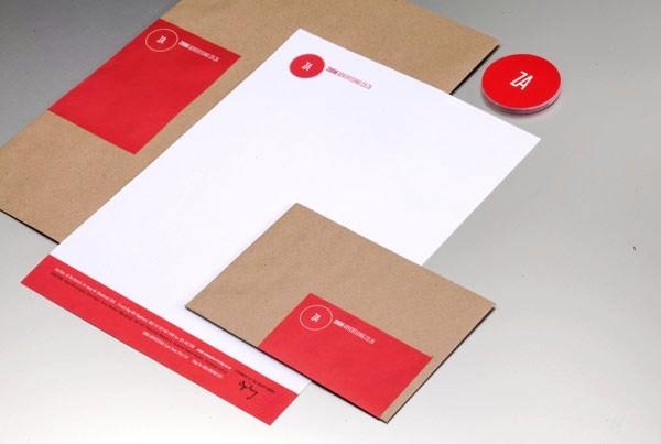 Desain Stasioneri Inspiratif Siap Print dan Cetak - Zoom Corporate Identity