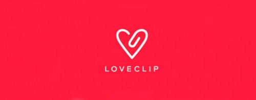 Contoh Logo Bertemakan Hati Love Heart - love-clip