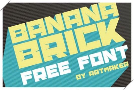 Font Cantik Free Download Gratis - Banana-Brick