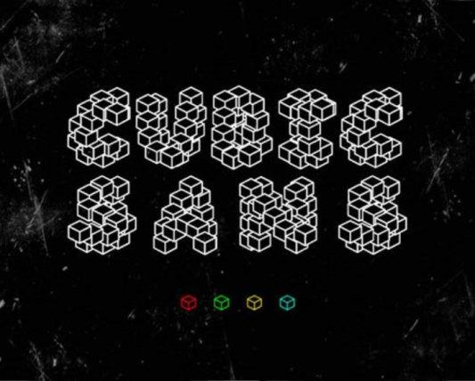 Font Cantik Free Download Gratis - Cubic-Sans