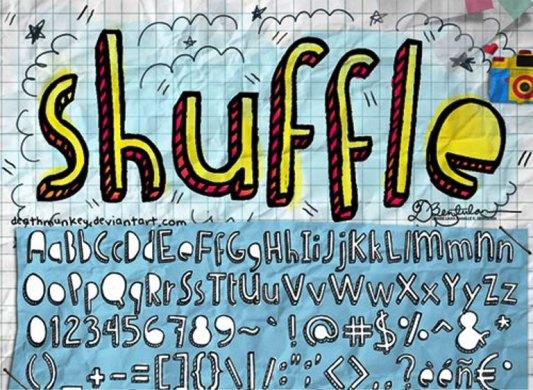 Font Cantik Free Download Gratis - Denne-Shuffle