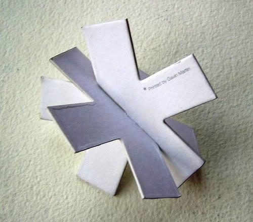 Contoh Desain Kartu Nama yang Unik - Gavin-Martin-Unique-BUsiness-Card