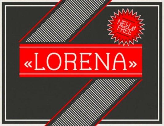 Font Cantik Free Download Gratis - Lorena