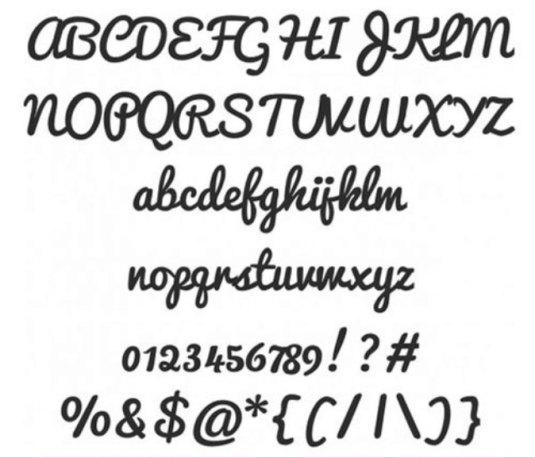 Font Cantik Free Download Gratis - Pacifico