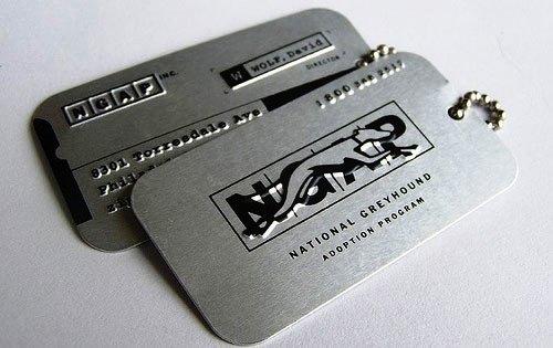 Contoh Desain Kartu Nama yang Unik - army-ID-like-business-card