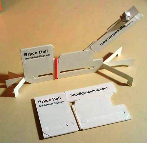 Contoh Desain Kartu Nama yang Unik - brice-bell-business-card