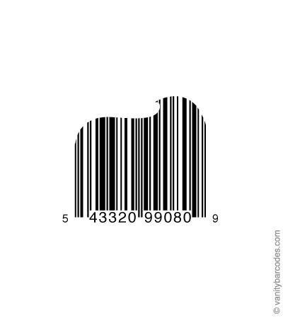 Desain Barcode Keren yang Unik - desain barcode unik kreatif vanitybarcodes - barcode seperti pasta gigi