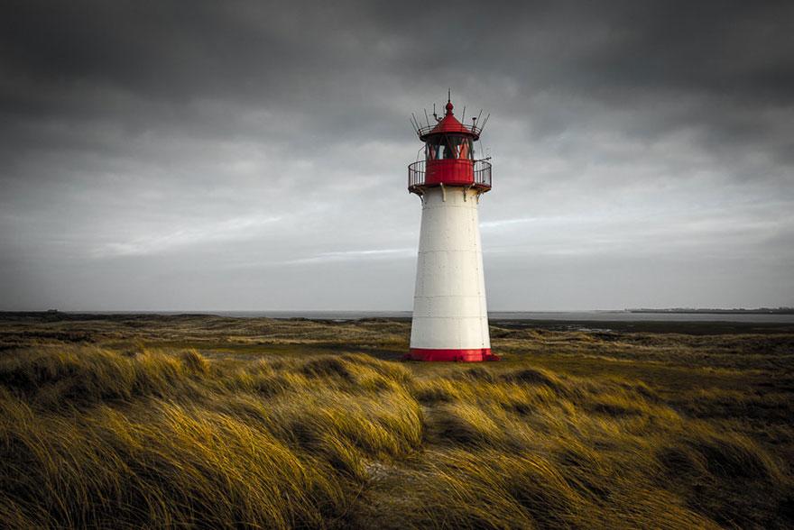 Mercusuar Terindah di Dunia - Gambar Foto Lampu Mercusuar Schleswig-Holstein, Jerman