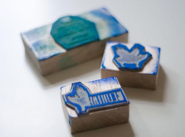 39 Desain Stempel Karet Standar Biasa - Desain Stempel Karet - Kartu Nama 11