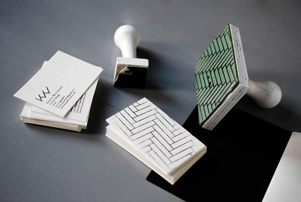 39 Desain Stempel Karet Standar Biasa - Desain Stempel Karet - Kartu Nama 3