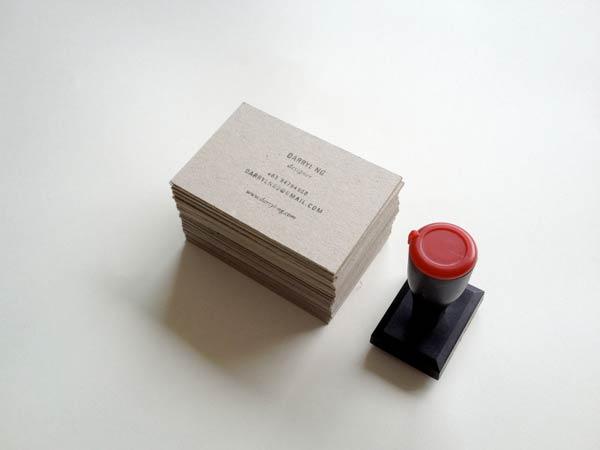 39 Desain Stempel Karet Standar Biasa - Desain Stempel Karet - Kartu Nama 8 Branding Personal