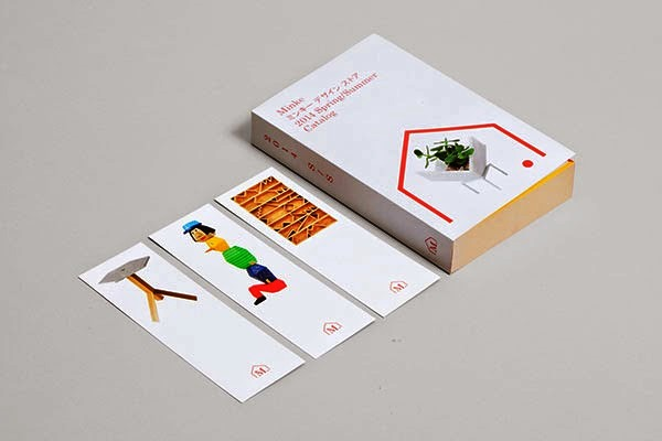 22 Disain Katalog Kreatif - Contoh desain katalog - Minke Design Store Catalog oleh Studio Lin