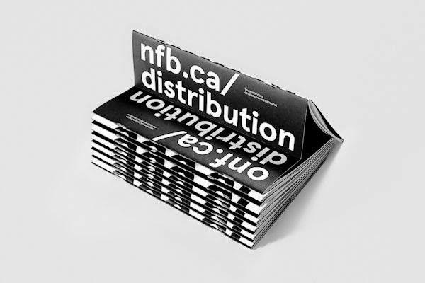 22 Disain Katalog Kreatif - Contoh desain katalog - NFB DISTRIBUTION Catalog oleh Justin Lortie