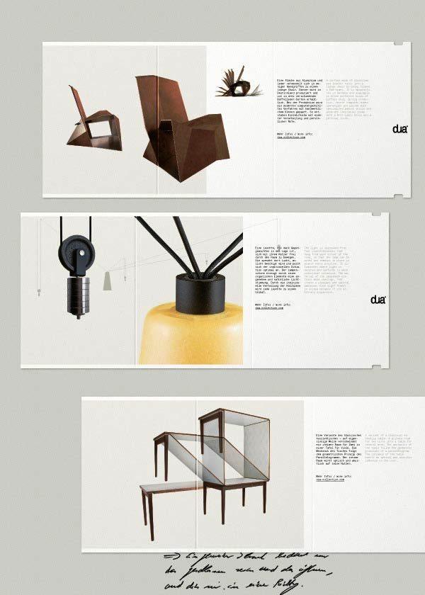 Desain Katalog Brosur Furnitur Modern - Katalog Brosur - - dua 1