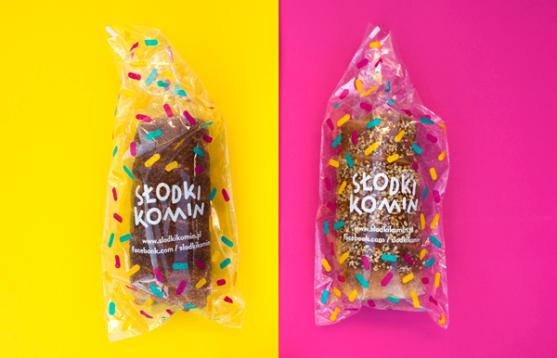 Contoh Kreatif Desain Kemasan Produk Makanan - Desain-Kreatif-Kemasan-Makanan-Slodki-komin-oleh-Zuzanna-Rogatty