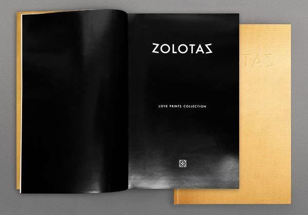 17 Desain Katalog Perhiasan Brosur Permata - Desain katalog brosur perhiasan - ZOLOTAS - 5 Collections Catalogue (High Jewelry) 2