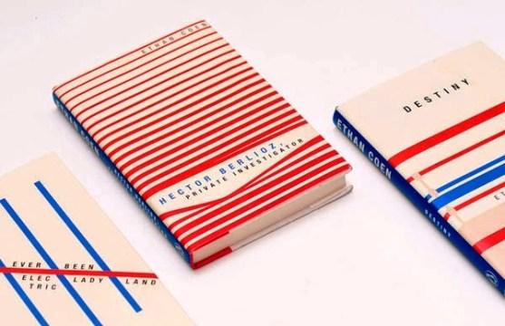 Gambar Kover Buku dengan Ide Desain Kreatif - Gambar-Kover-Buku-Ide-Desain-Kreatif-Ethan-Coen-Series-oleh-Miguel-Yatco