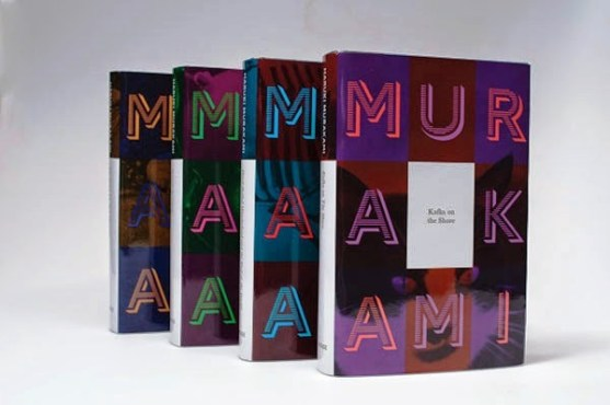 Gambar Kover Buku dengan Ide Desain Kreatif - Gambar-Kover-Buku-Ide-Desain-Kreatif-Murakami-Book-Covers-oleh-Tamara-Brophy