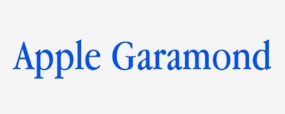 62 Font Unik untuk Desain Grafis - Font-Unik-Apple-Garamond