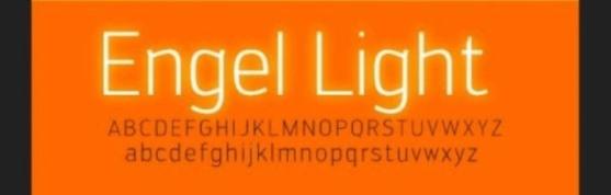 62 Font Unik untuk Desain Grafis - Font-Unik-Engel-Light-Font-For-Cool-Web-Typography