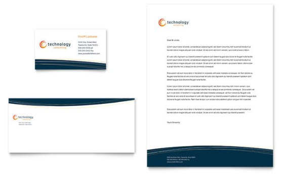 Template Desain Download Gratis - Template-Desain-Kop-Surat-dan-Amplop-Download-Free-PDF