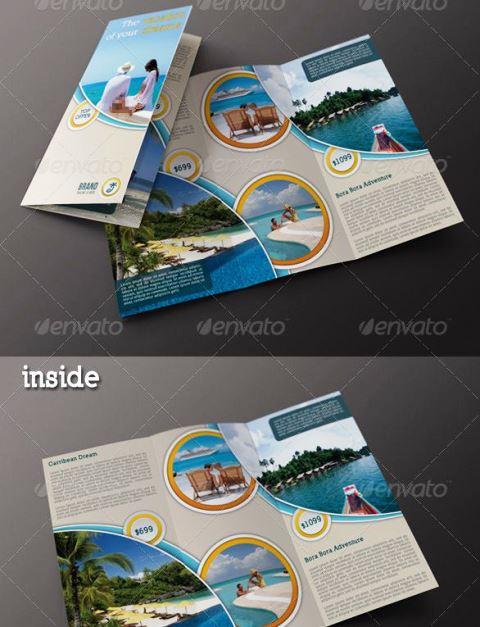 25 Contoh Desain Brosur Tour Dan Travel Terbaik - Brosur-Tour-dan-Travel-Travel-Agency-3-Fold-Brochure