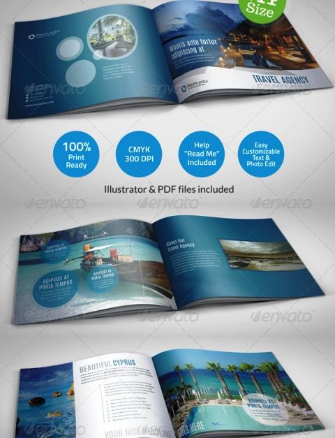 25 Contoh Desain Brosur Tour Dan Travel Terbaik - Brosur-Tour-dan-Travel-Travel-Agency-Brochure-Catalog-Template