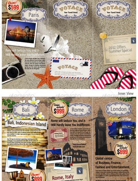 25 Contoh Desain Brosur Tour Dan Travel Terbaik - Brosur-Tour-dan-Travel-Tri-fold-Travel-Tourism