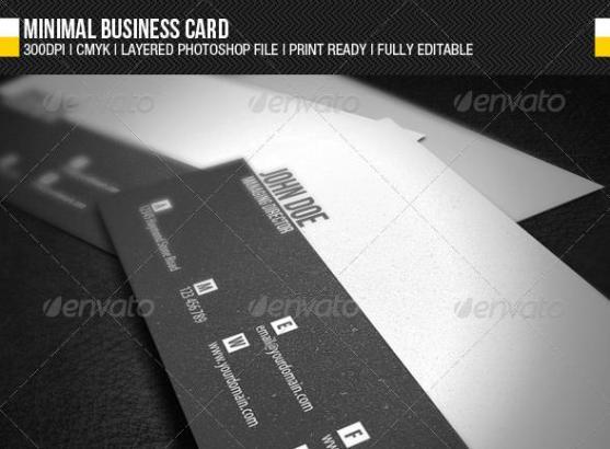 14 Desain Kartu Nama Perusahaan - Desain-Kartu-Nama-Perusahaan-Minimal-Business-Card