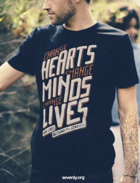 27 contoh kaos dengan desain keren - Desain kaos keren - Change hearts