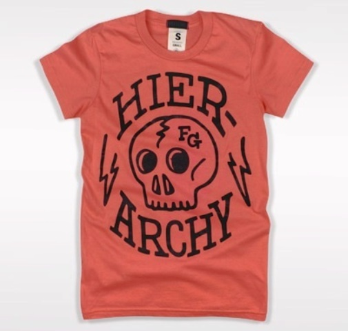 27 contoh kaos dengan desain keren - Desain kaos keren - Hierarchy T-shirt
